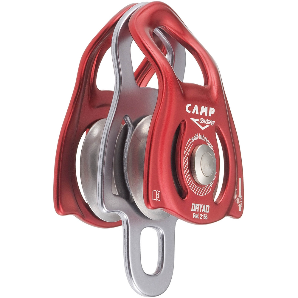 Camp Dryad Small Double Pulley :: OmniProGear.com Rock Climbing Rope