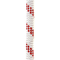 OPG static kernmantle rescue rapelling rope 11mm x 150feet White/Red UL ANSI NFPA USA