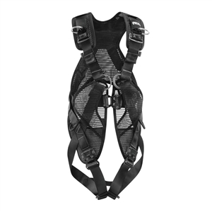 Petzl NEWTON EASYFIT BLACK full body harness with fast buckles and vest ANSI CSA Size 1