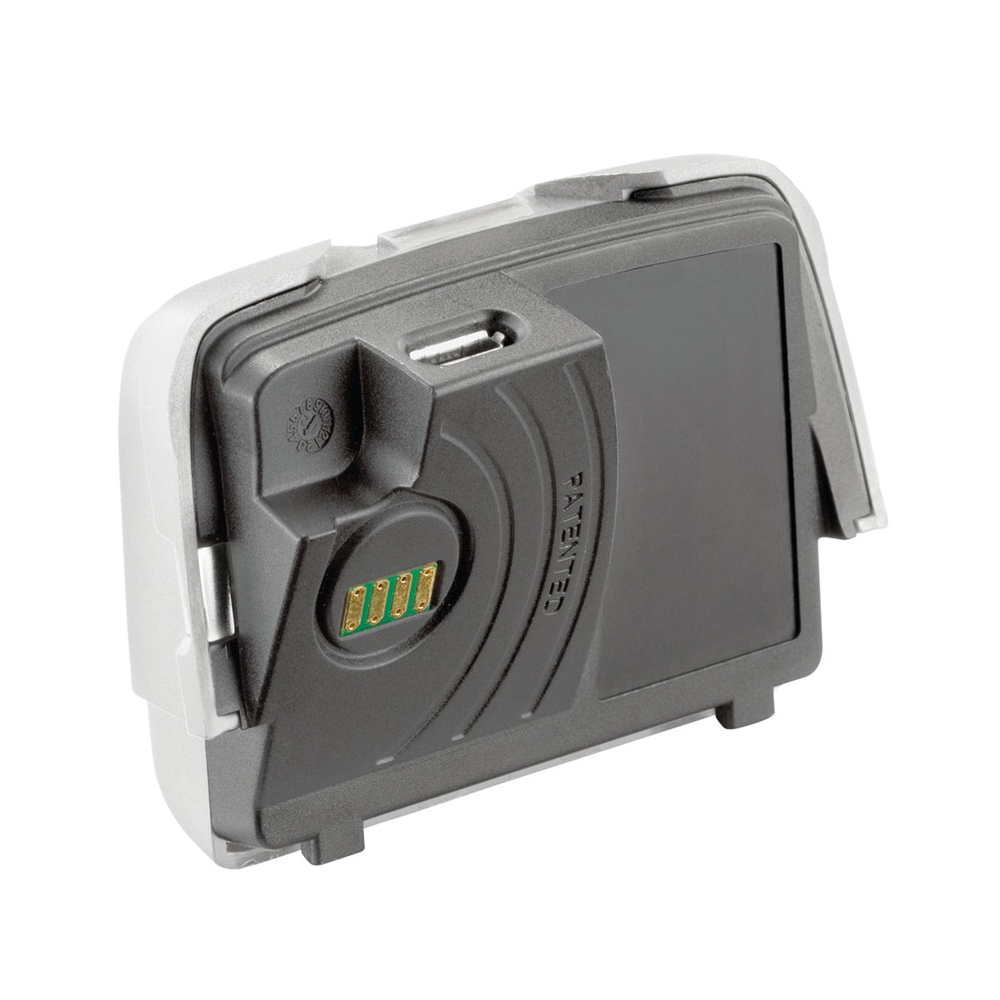petzl rechargeable battery for reactik headlamp and. Black Bedroom Furniture Sets. Home Design Ideas