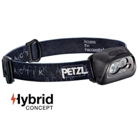 Petzl ACTIK Black headlamp 300 lumens