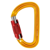 Petzl SM'D H-frame TWIST-LOCK carabiner with tethering hole