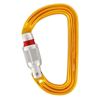 Petzl SM'D H-frame  SCREW-LOCK carabiner with tethering hole