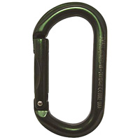 Petzl OWALL non-locking oval Green