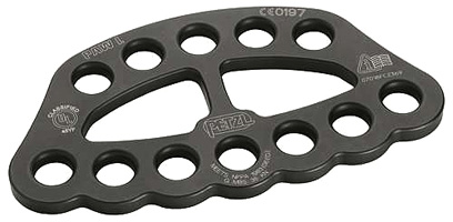 Petzl PAW LARGE Rigging Plate Black