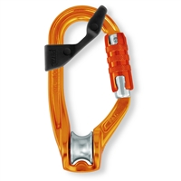 Petzl ROLLCLIP pulley carabiner TRIACT-LOCK with CAPTIV