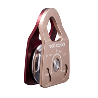 Rock Exotica Machined Rescue Pulley Single  P22