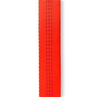 Tubular Webbing 1 inch x 10 yards Safety Orange