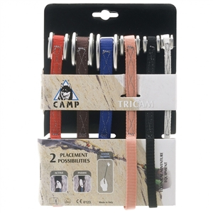 CAMP 6-Piece Nylon Tricam Set (0.125-2.0)