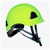 ProClimb Gem Work and Rescue ANSI lime Helmet