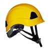 ProClimb Gem Work and Rescue ANSI Yellow Helmet