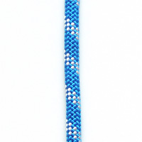 OPG static kernmantle rescue rapelling rope 11mm x 50 feet Ocean Blue UL ANSI NFPA USA