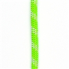 OPG static kernmantle rescue rapelling rope 11mm x 150feet Lime UL ANSI NFPA USA