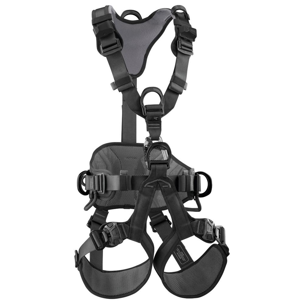 PC071DA04 2 petzl 2019 black avao bod fast fall arrest harness size 1
