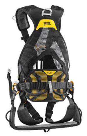 Petzl Volt Seat Full Body Harness Carabiner Sca Size 0