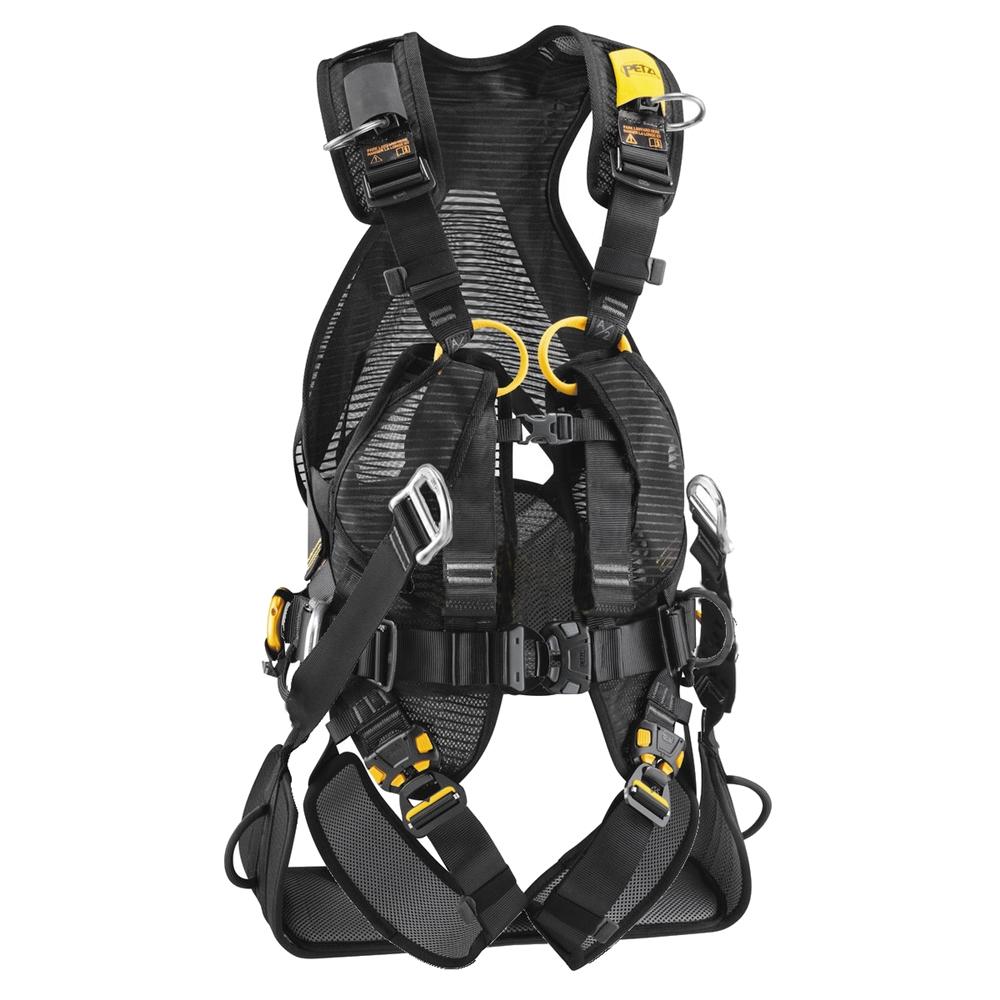Zip Line Harness >> Petzl Volt LT & Seat Full-Body Climbing Harness Size 2
