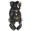 Petzl VOLT WIND full body harness with back protection with OXAN TRIACT-LOCK Carabiner CSA Size 2