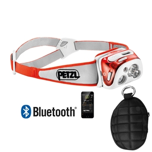 Petzl Reactik plus headlamp with OmniProGear Case