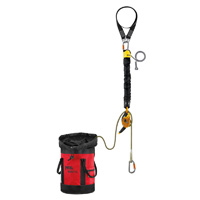 Petzl JAG RESCUE KIT contained hauling and evacuation kit 120 meter
