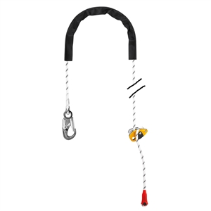 Petzl GRILLON hook 5 meter 16.4 feet with HOOK connector