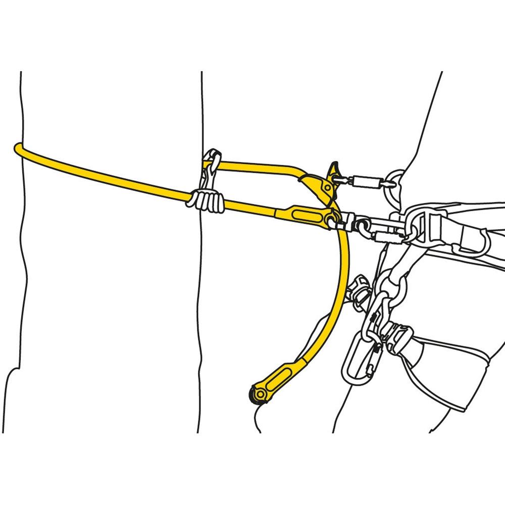 Microflip Flipline Lanyard For Arborists Wire Core 2 5m