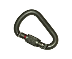 Petzl ATTACHE LOCK carabiner GREEN