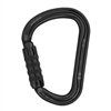 Petzl WILLIAM H-frame TRIACT LOCKING Black carabiner