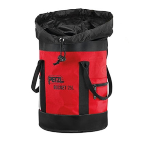 Petzl Bucket Red Climbing Rope Bag 25 Liters