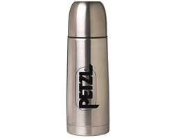 Petzl INSULATED 18oz THERMOS silver