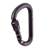 Rock Exotica Pirate Screw-Lock Black Carabiner