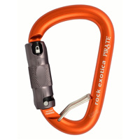 Rock Exotica Pirate WireEye Auto-Lock Carabiner