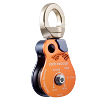 "Rock Exotica Omni-Block 1.5"" Single-Steel Sheave Pulley P51SS"