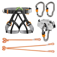 Zip Line Harness System